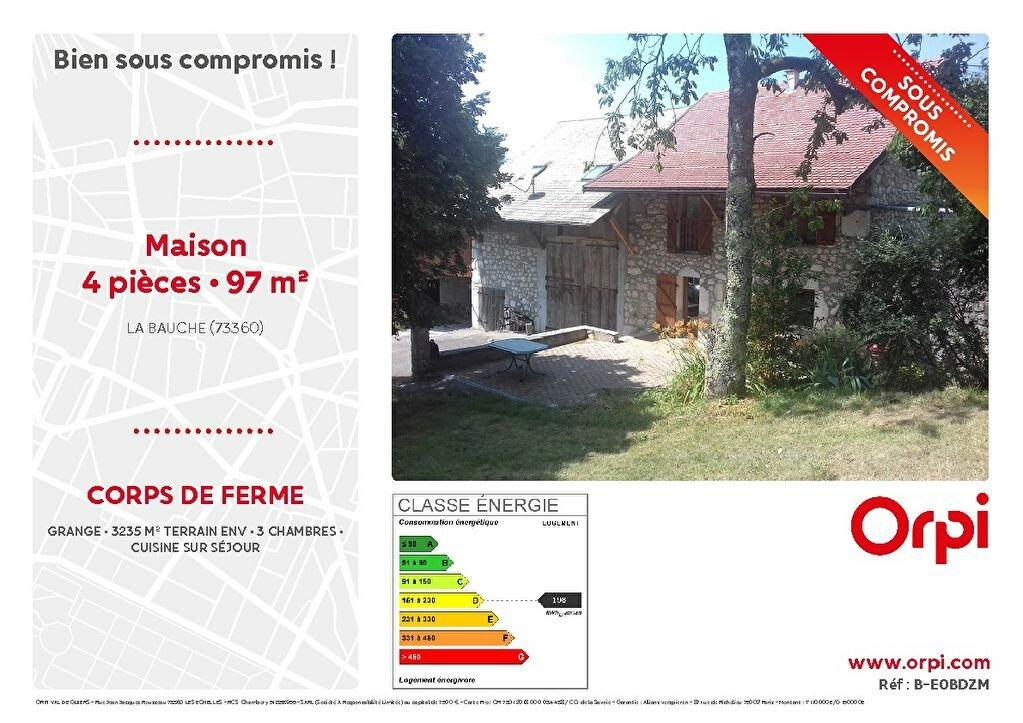 Achat Maison 4 pièces à La Bauche - vignette-1