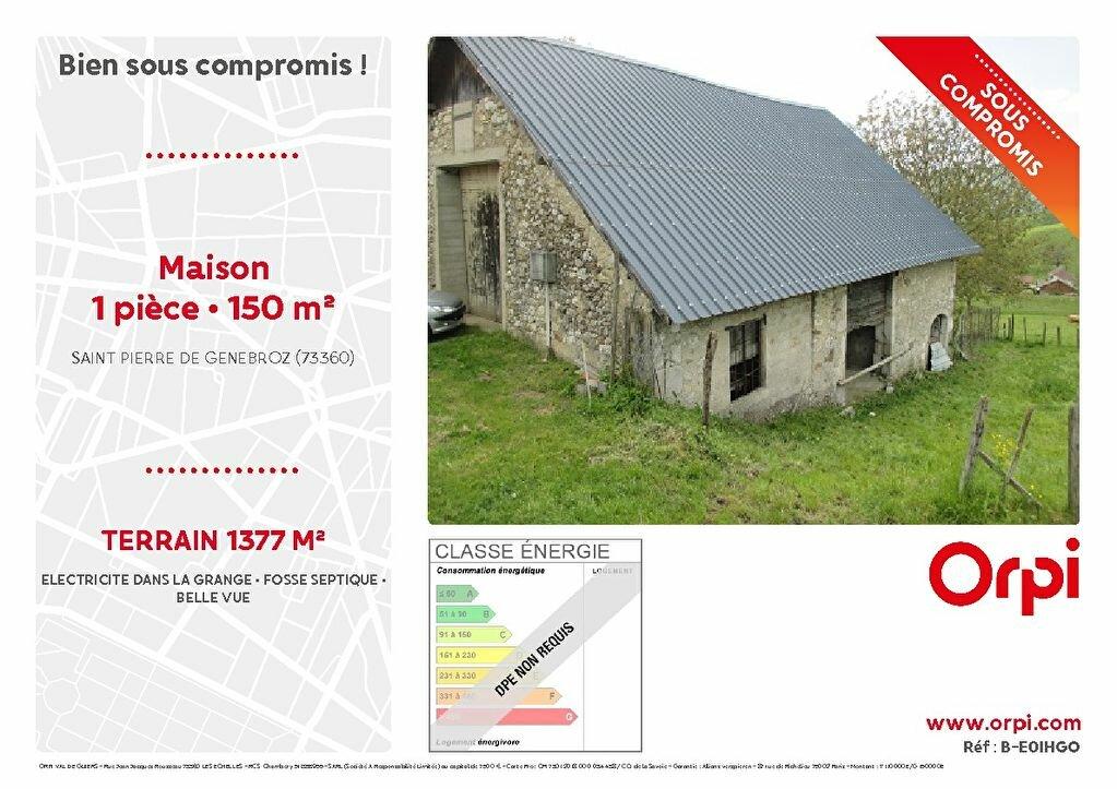 Achat Maison 1 pièce à Saint-Pierre-de-Genebroz - vignette-1