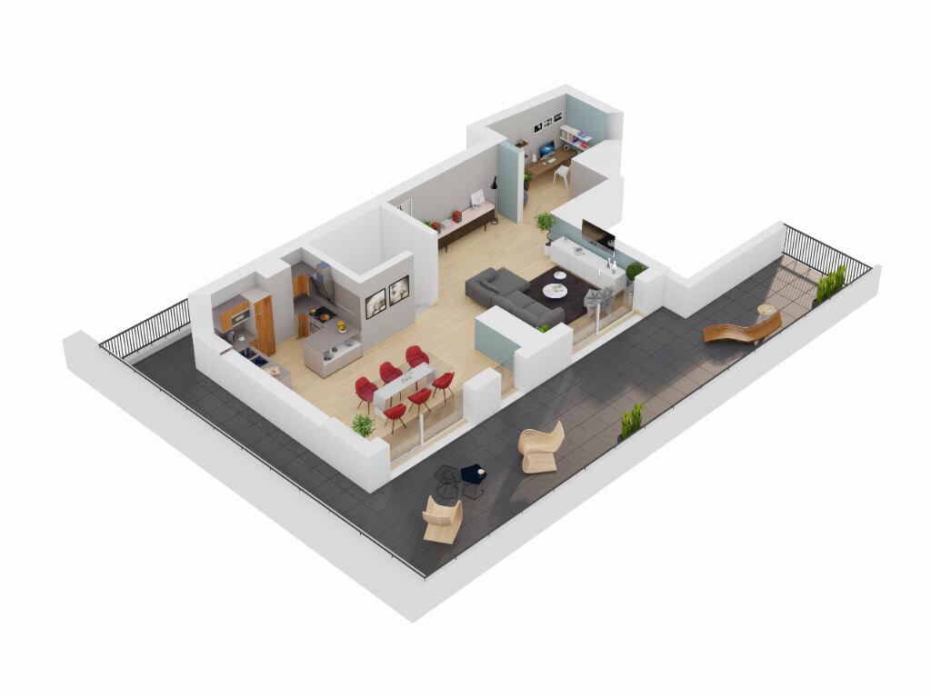 Achat Appartement 7 pièces à Lyon 7 - vignette-1