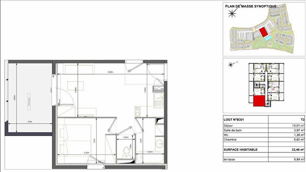 Achat Appartement 2 pièces à Sérignan - vignette-2