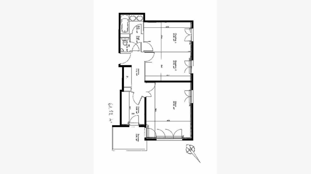 Achat Appartement 3 pièces à Mouans-Sartoux - vignette-7
