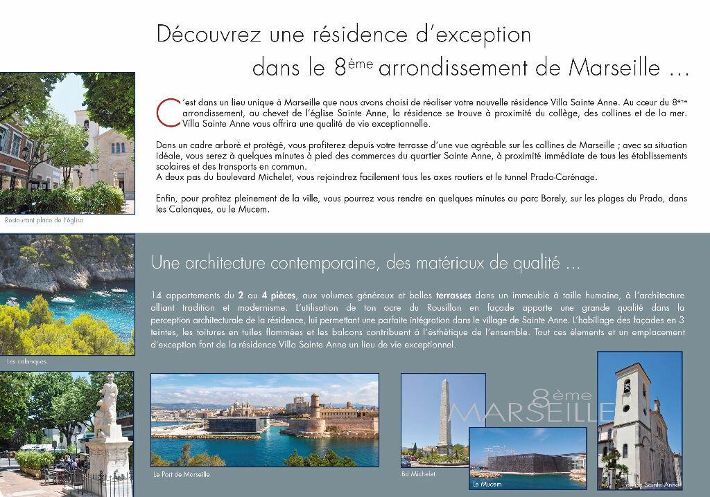 Achat Appartement 2 pièces à Marseille 8 - vignette-3