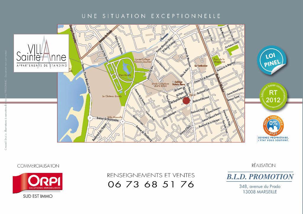 Achat Appartement 2 pièces à Marseille 8 - vignette-4