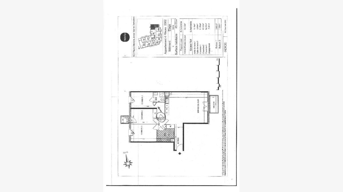 Achat Appartement 4 pièces à Bondoufle - vignette-6
