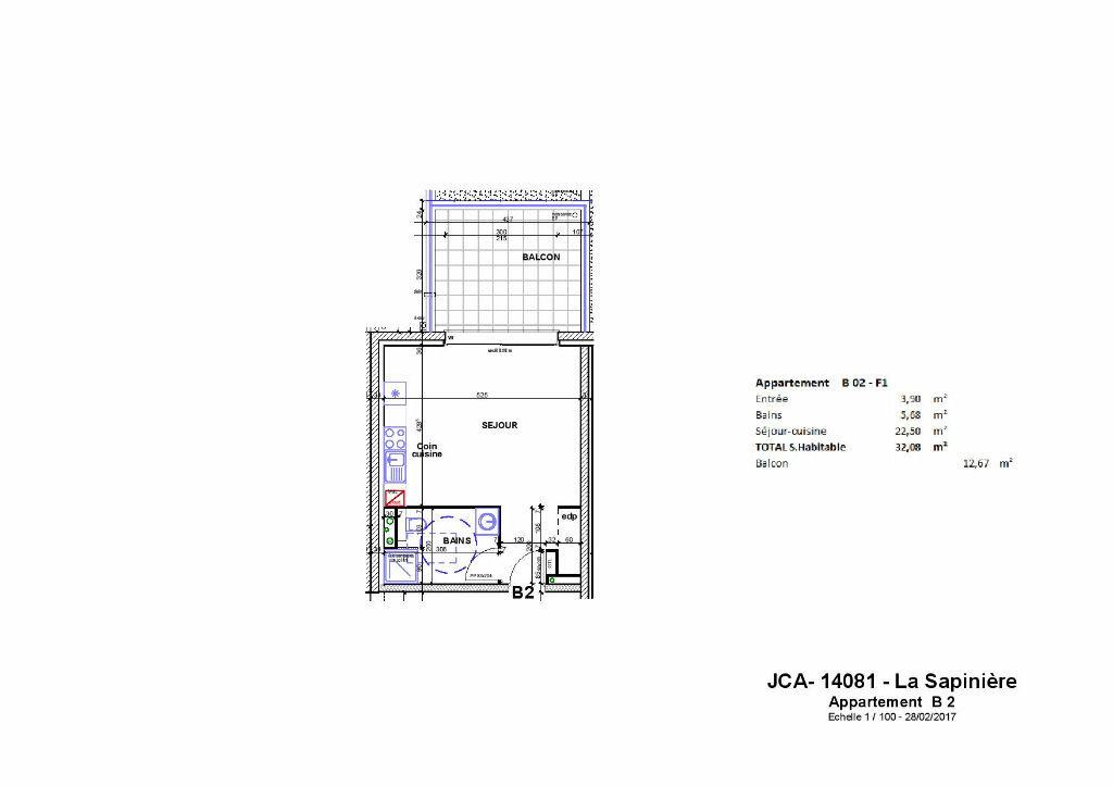 Achat Appartement 1 pièce à Stuckange - vignette-1