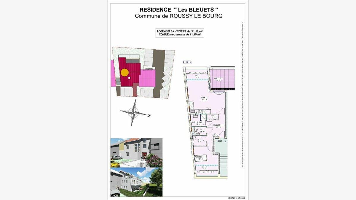 Achat Appartement 2 pièces à Hettange-Grande - vignette-1