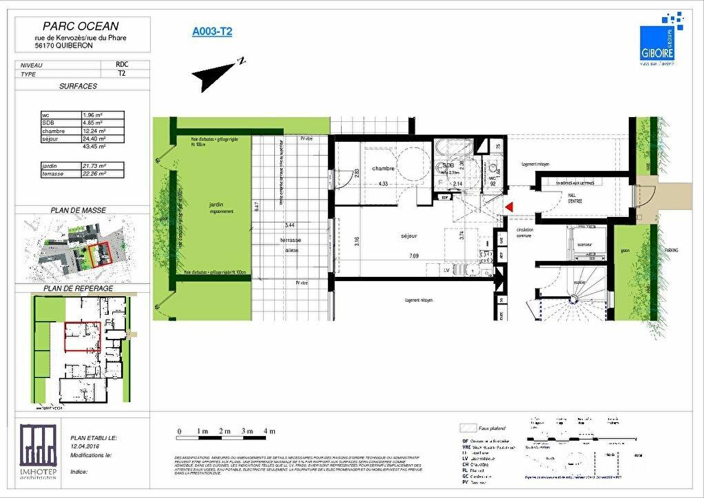 Achat Appartement 2 pièces à Quiberon - vignette-1