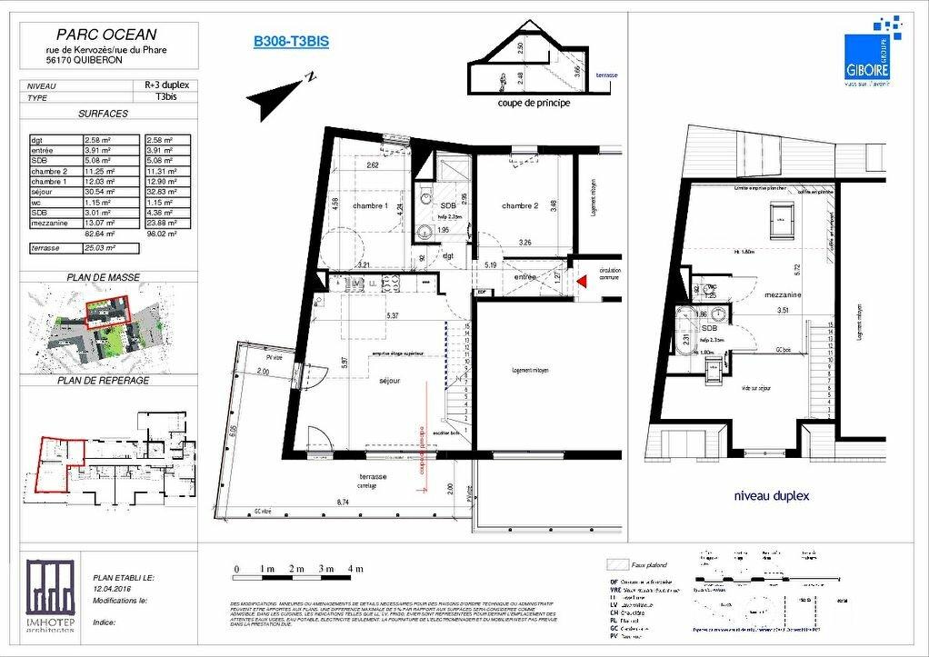 Achat Appartement 4 pièces à Quiberon - vignette-1