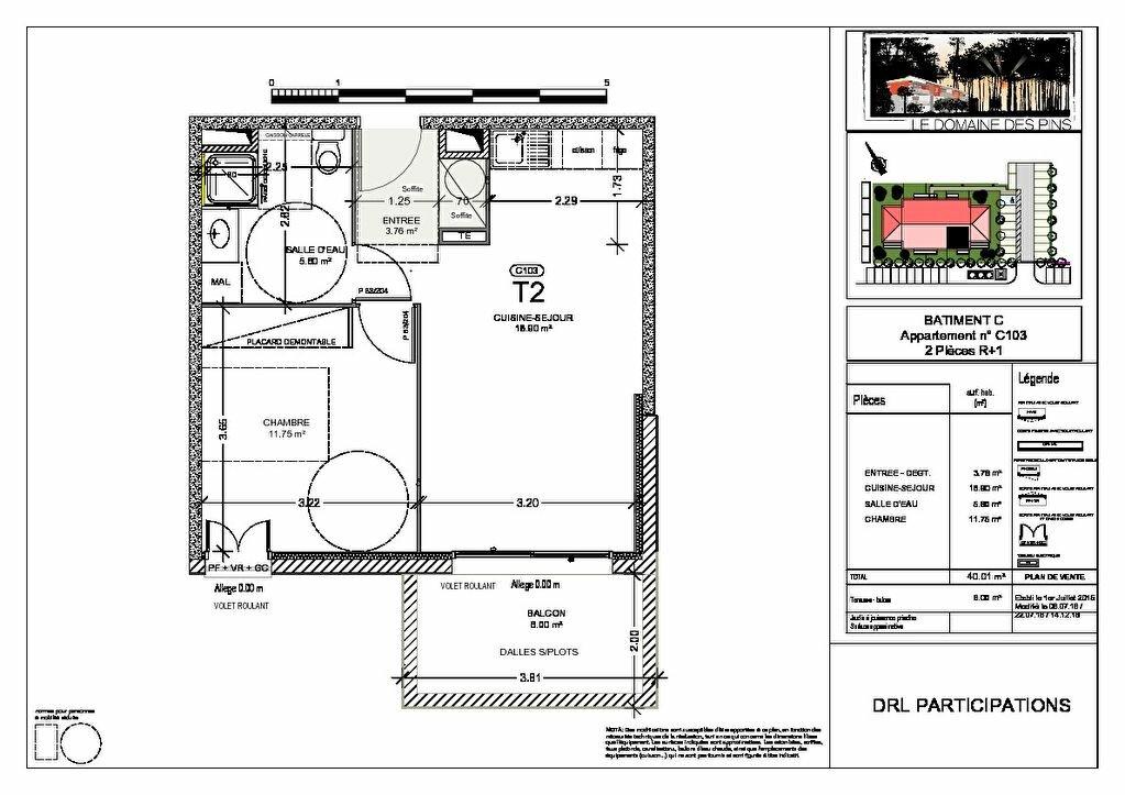 Achat Appartement 2 pièces à Moliets-et-Maa - vignette-2