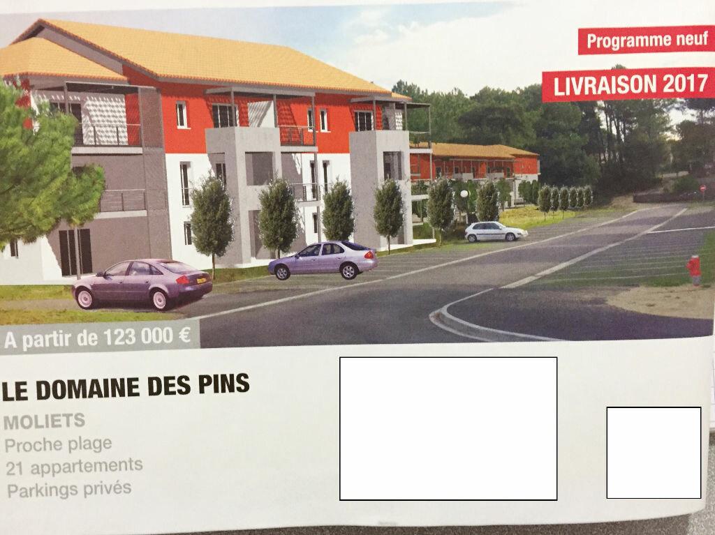 Achat Appartement 2 pièces à Moliets-et-Maa - vignette-1