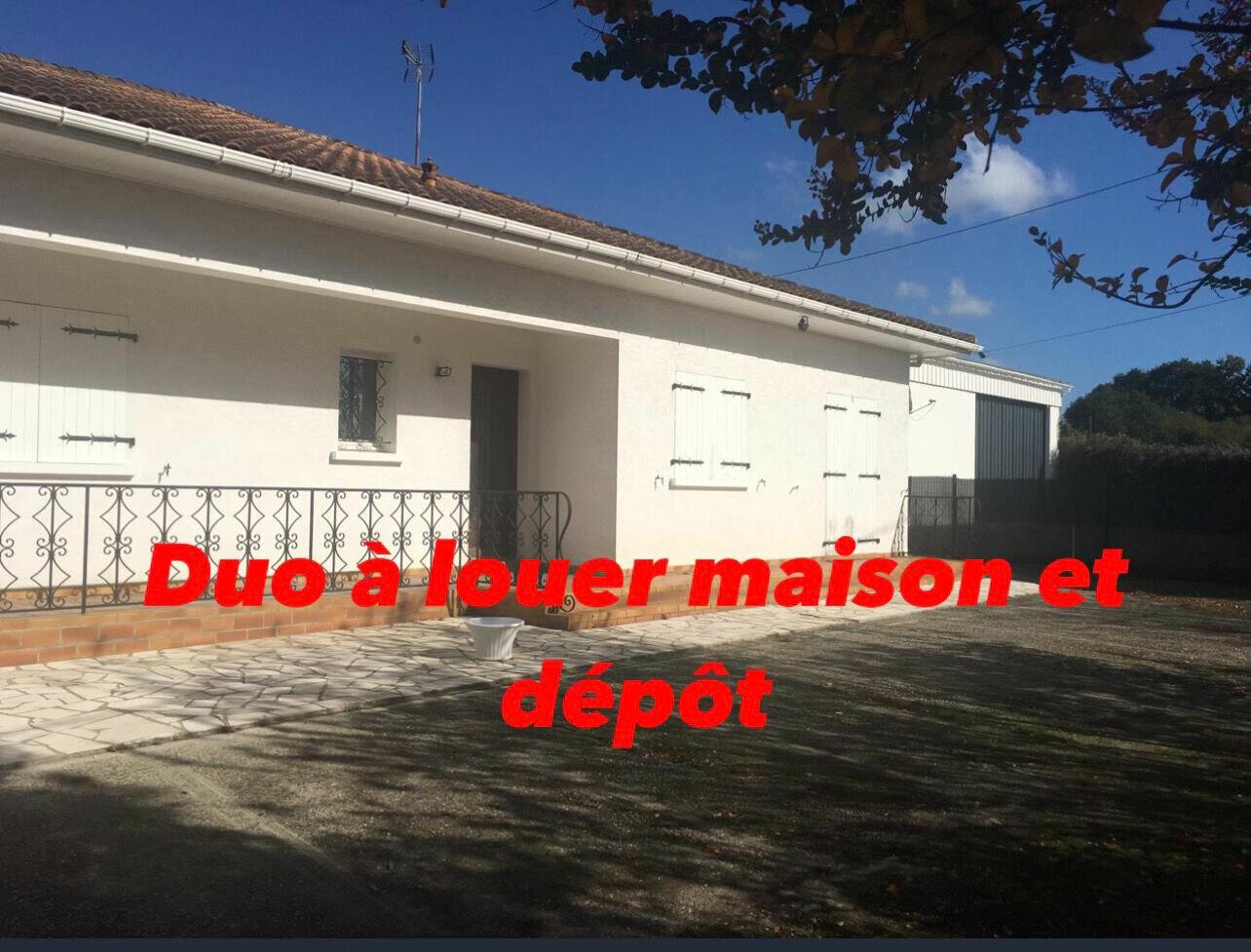 Location Maison 5 pièces à Labatut - vignette-1