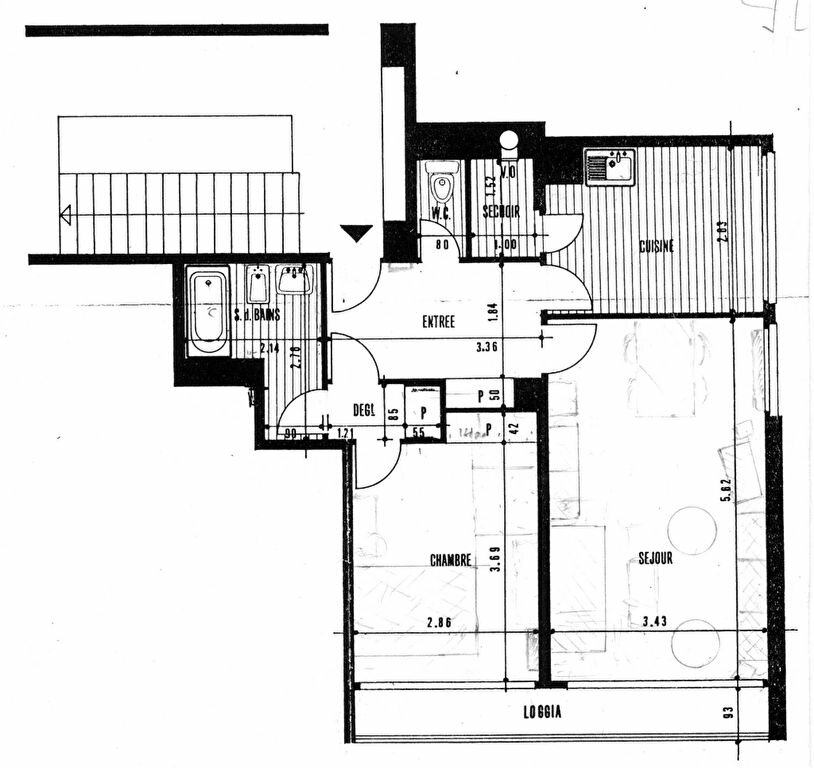 Achat Appartement 2 pièces à Palaiseau - vignette-1