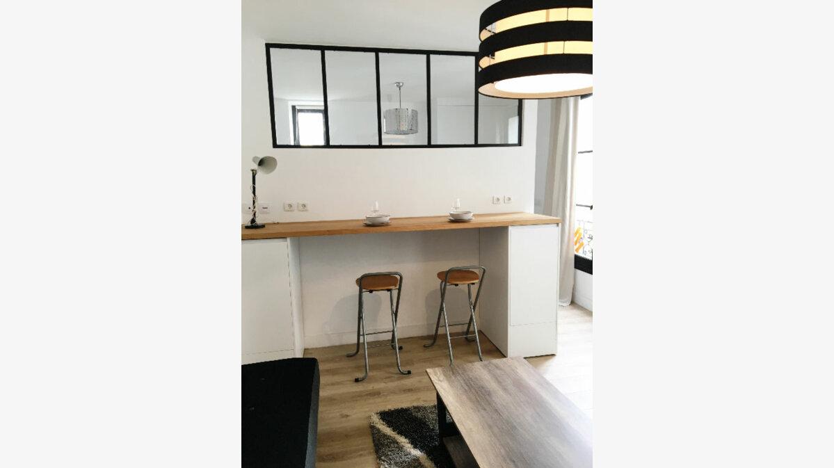 Location Appartement 2 pièces à Paris 17 - vignette-1