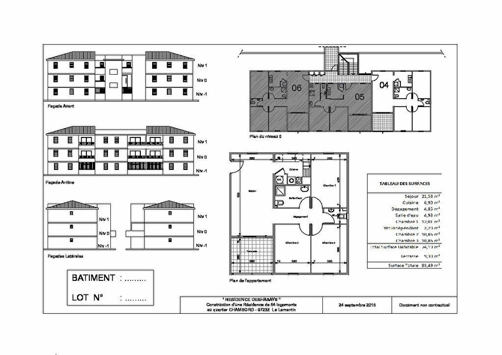 Location Appartement 4 pièces à Le Lamentin - vignette-3