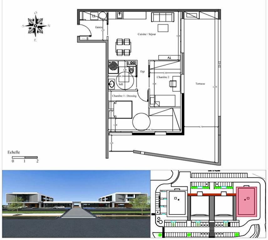 Achat Appartement 3 pièces à Borgo - vignette-1