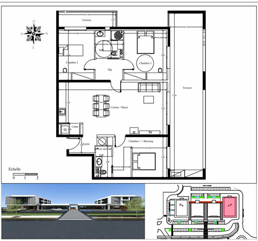 Achat Appartement 4 pièces à Borgo - vignette-1