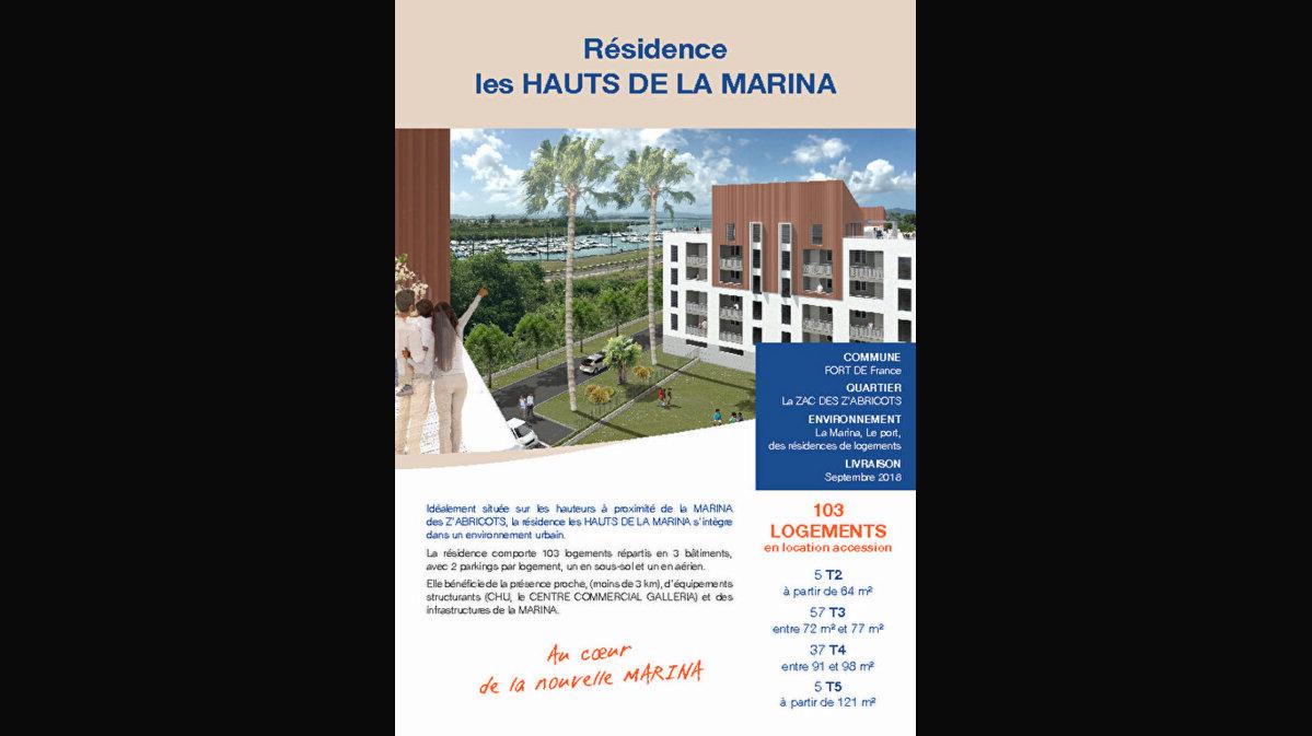 Achat Appartement 3 pièces à Fort-de-France - vignette-1