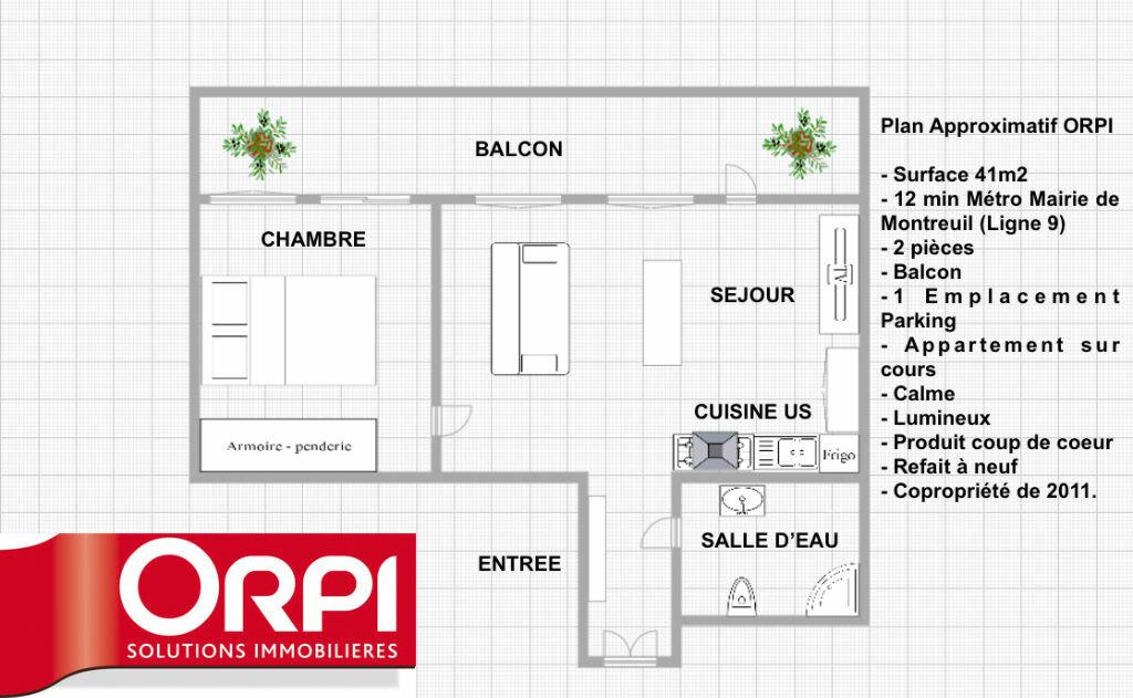 Achat Appartement 2 pièces à Montreuil - vignette-1