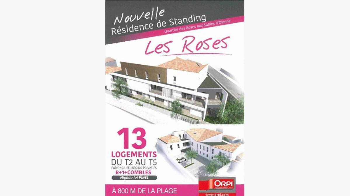 Achat Appartement 2 pièces à Les Sables-d'Olonne - vignette-1