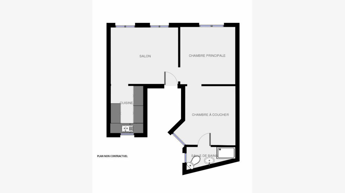 Achat Appartement 3 pièces à Paris 20 - vignette-5