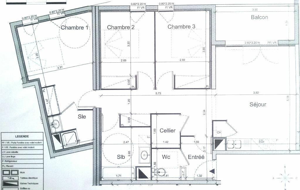 Achat Appartement 4 pièces à Pessac - vignette-1