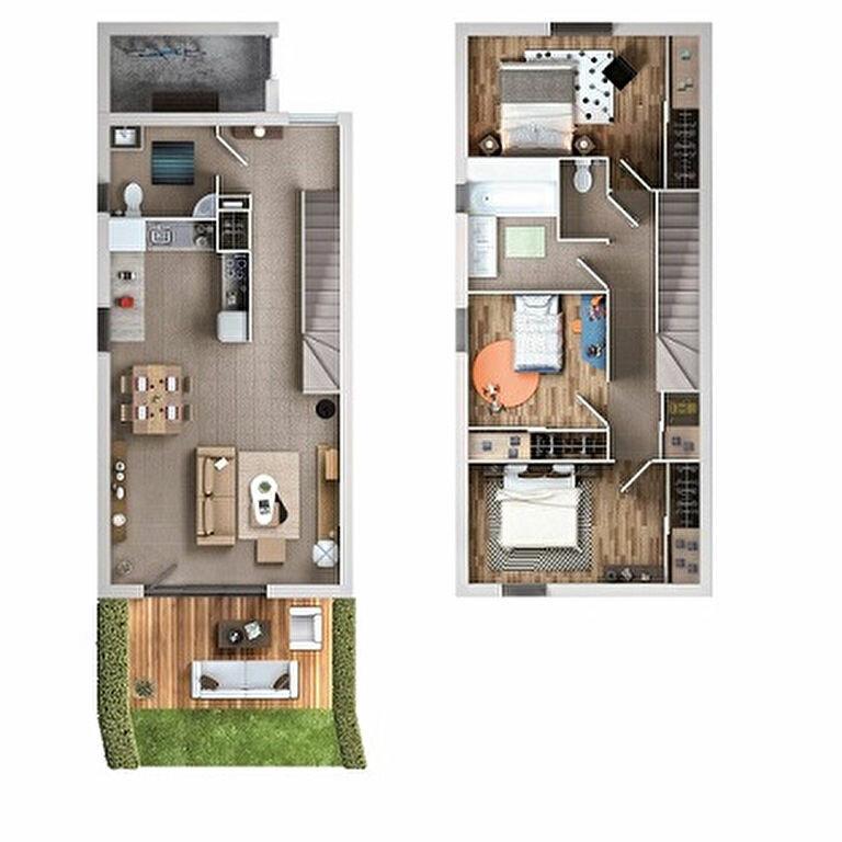 Achat Appartement 4 pièces à Colomiers - vignette-2
