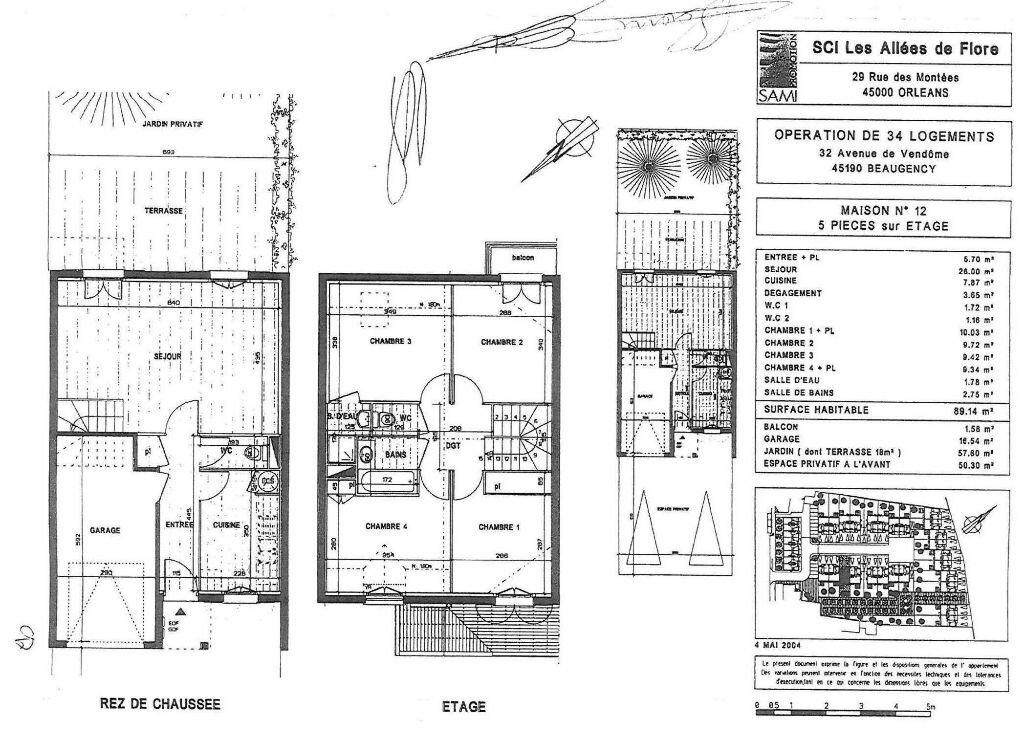 Location Maison 5 pièces à Beaugency - vignette-13