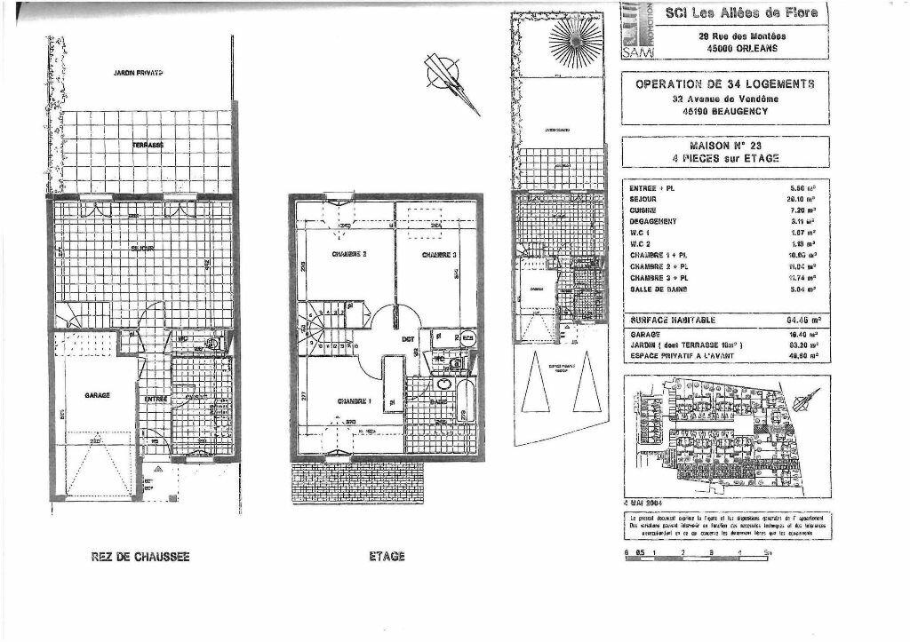 Location Maison 4 pièces à Beaugency - vignette-8