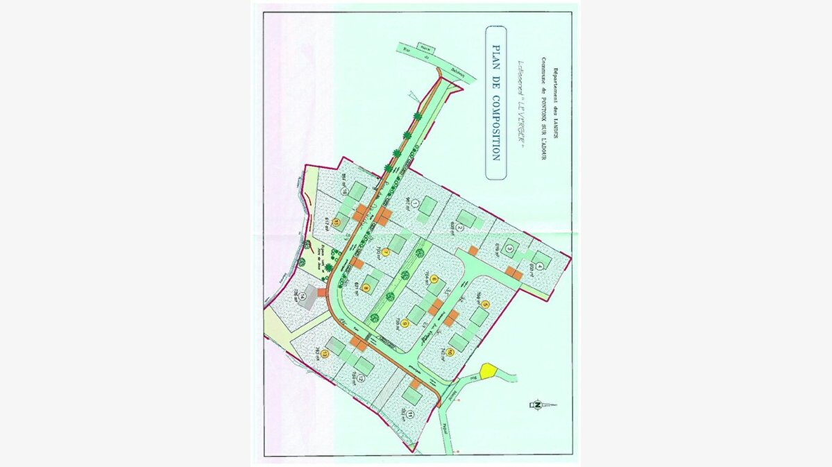 Achat Terrain  à Pontonx-sur-l'Adour - vignette-1