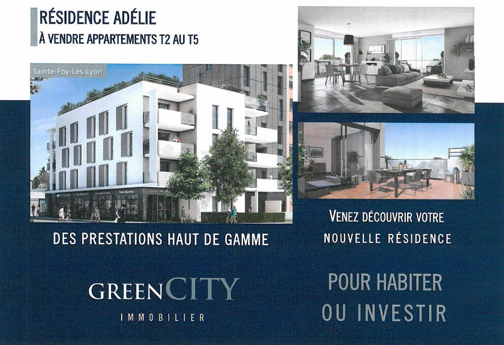 Achat Appartement 3 pièces à Sainte-Foy-lès-Lyon - vignette-1