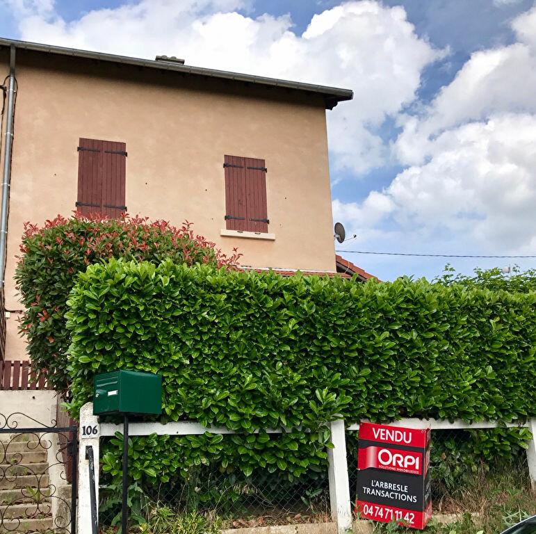 Achat Maison 4 pièces à Saint-Pierre-la-Palud - vignette-1