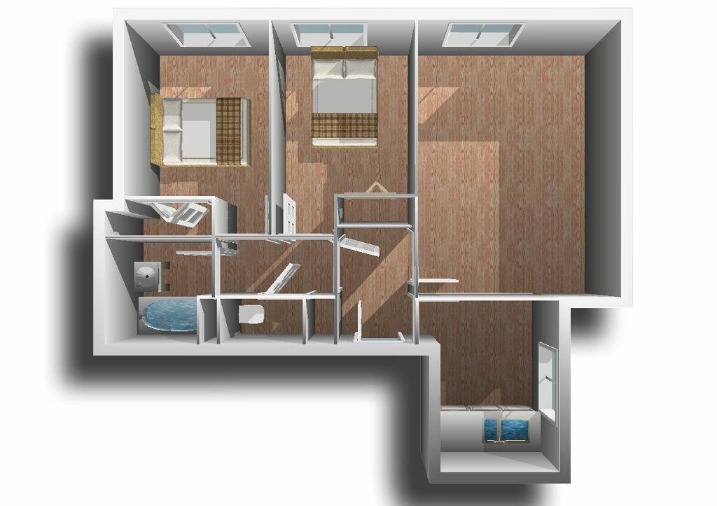Achat Appartement 3 pièces à Fresnes - vignette-1