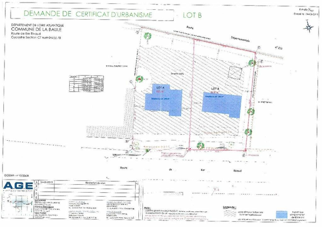 Achat Terrain  à La Baule-Escoublac - vignette-1