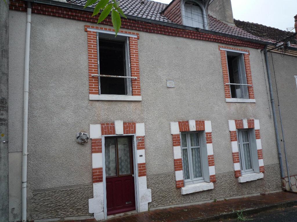 Achat Maison 3 pièces à Dun-le-Poëlier - vignette-1