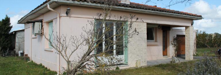 Achat Maison 5 pièces à Saint-Ciers-de-Canesse