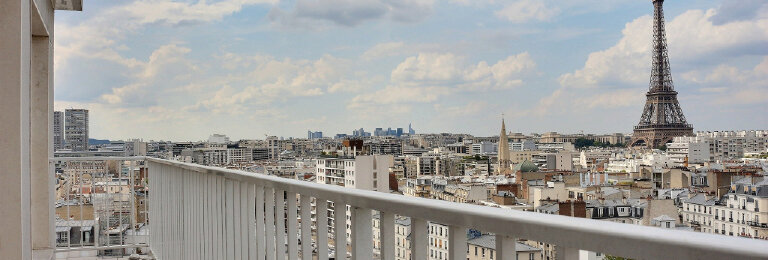 Location Appartement 2 pièces à Paris 15