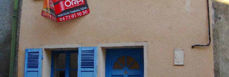 Achat Maison 2 pièces à Montluel
