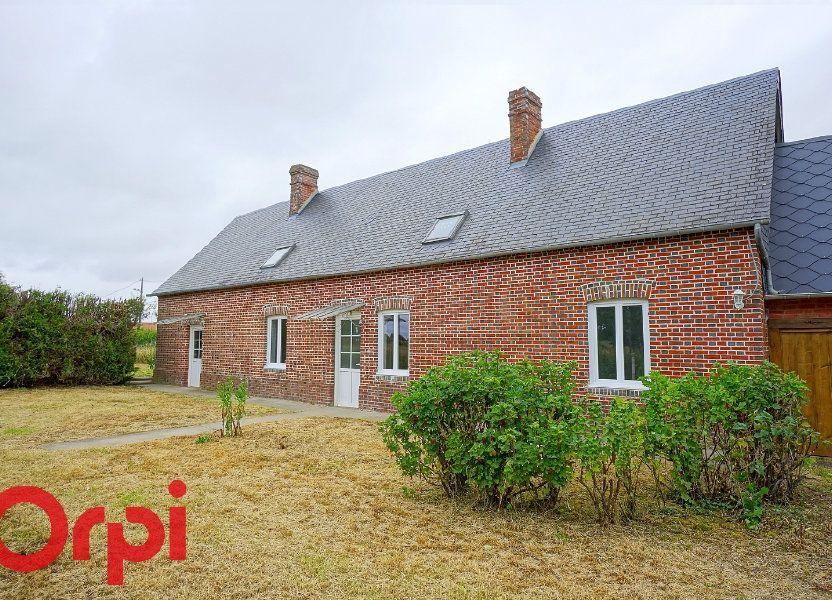 Maison à louer 82m2 à Saint-Aubin-le-Vertueux