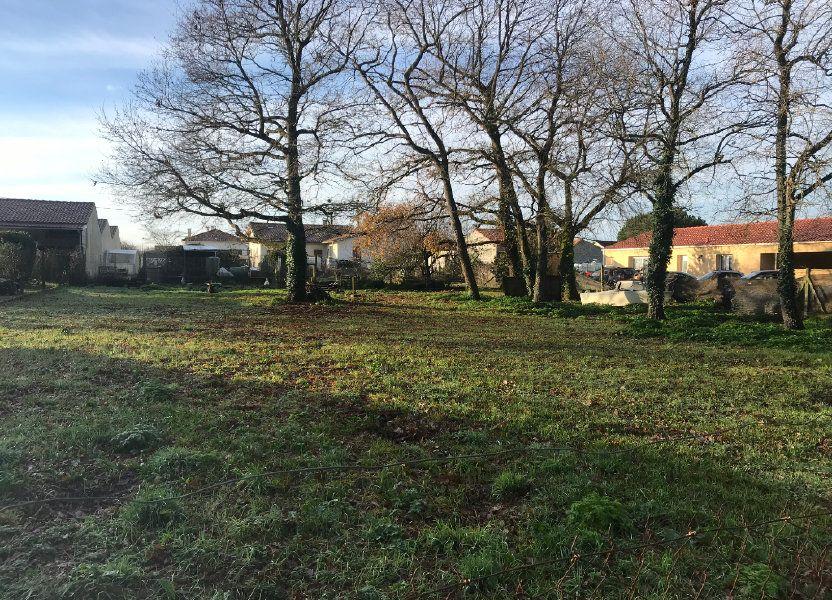 Terrain à vendre 1092m2 à Bourcefranc-le-Chapus