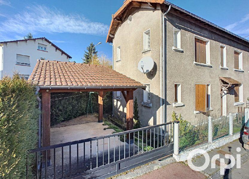 Maison à vendre 95m2 à Saint-Éloy-les-Mines