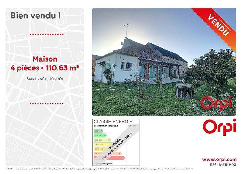 Maison à vendre 110.63m2 à Saint-Angel