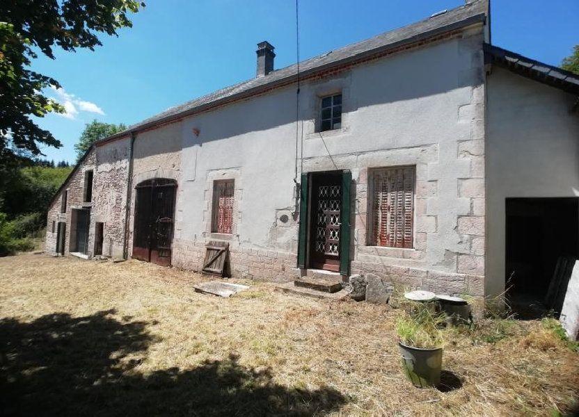 Maison à vendre 60m2 à Toulx-Sainte-Croix