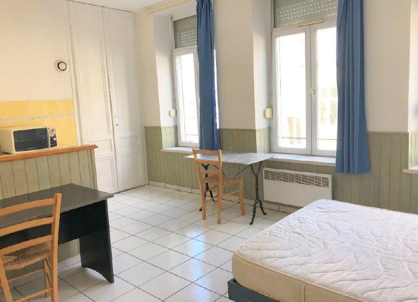 Appartement à louer 24m2 à Boulogne-sur-Mer
