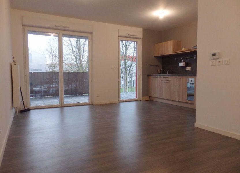 Appartement à louer 61.1m2 à Lille