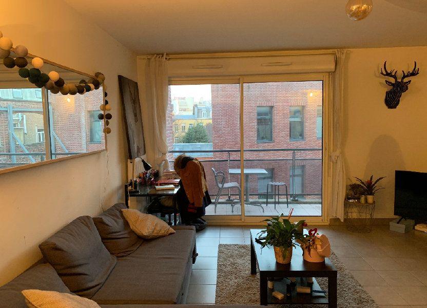 Appartement à louer 44.92m2 à Lille