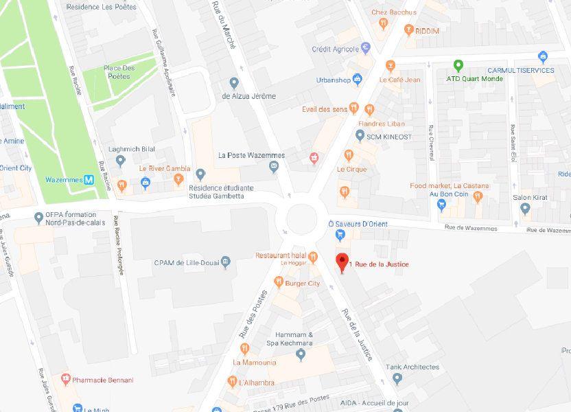 Stationnement à louer 13m2 à Lille
