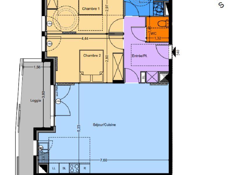 Appartement à vendre 60.75m2 à Castelnau-le-Lez