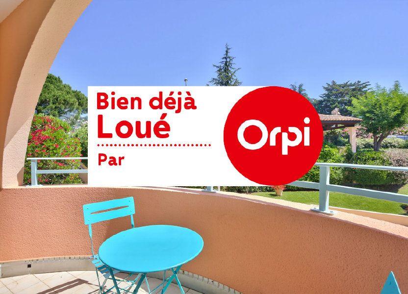 Appartement à louer 21.05m2 à Mandelieu-la-Napoule