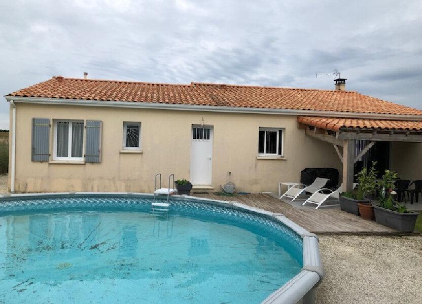 Maison à vendre 120m2 à Saint-Sulpice-d'Arnoult