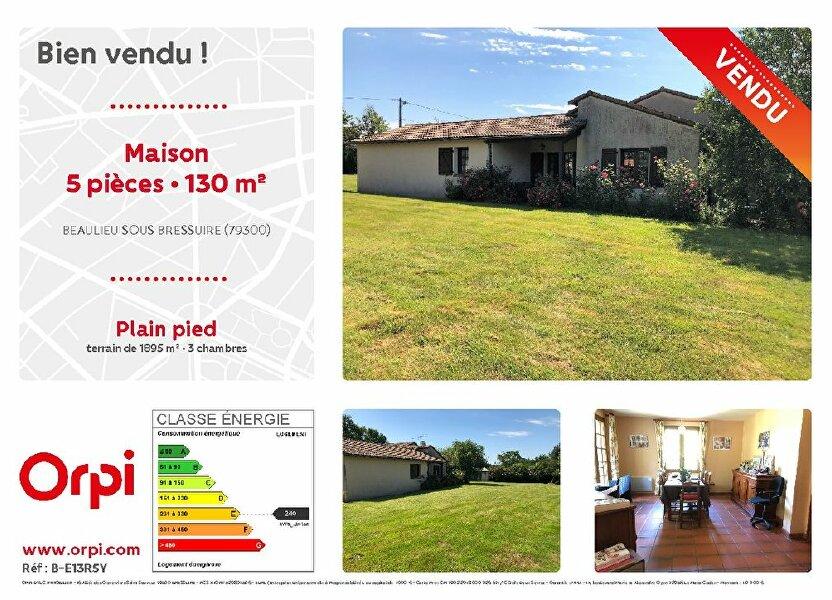 Maison à vendre 130m2 à Bressuire